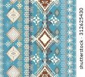 ethnic seamless pattern. ethno...   Shutterstock .eps vector #312625430