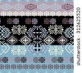 ethno seamless pattern. ethnic... | Shutterstock .eps vector #312625520
