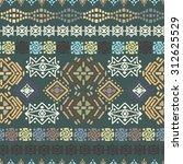 ethnic seamless pattern. ethno... | Shutterstock .eps vector #312625529