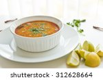 indian yellow lentil fry | Shutterstock . vector #312628664