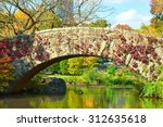 new york city central park in... | Shutterstock . vector #312635618