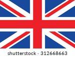 great britain  united kingdom... | Shutterstock . vector #312668663