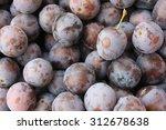 plums | Shutterstock . vector #312678638