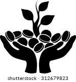money tree | Shutterstock .eps vector #312679823