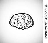 illustration of brain designs ... | Shutterstock . vector #312720356