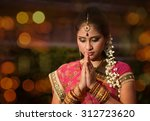 Indian Female In Traditional...
