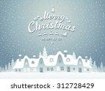 christmas background   Shutterstock .eps vector #312728429