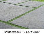 green grass texture paving... | Shutterstock . vector #312759800