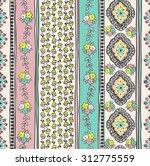 seamless paisley background....   Shutterstock .eps vector #312775559