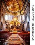 vatican city  vatican   october ... | Shutterstock . vector #312791543