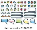web icons | Shutterstock .eps vector #31280239