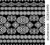 ethnic seamless pattern. ethno... | Shutterstock .eps vector #312814490
