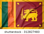 sri lanka flag on soft and... | Shutterstock . vector #312827483