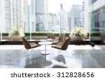 blurred waiting chairs zone in... | Shutterstock . vector #312828656