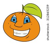 illustration of the cheerful... | Shutterstock .eps vector #312865259