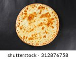 hot four cheeses delicious... | Shutterstock . vector #312876758