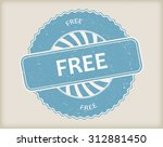 free grunge rubber stamp.vector ... | Shutterstock .eps vector #312881450