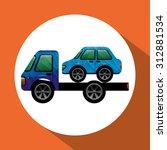 car icon design  vector... | Shutterstock .eps vector #312881534