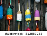 Four Colorfully Painted Bullet...