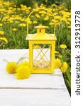 Beautiful Yellow Lantern On...