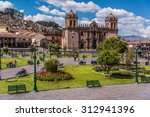 cuzco  peru  panoramic view of... | Shutterstock . vector #312941396