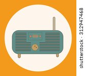 radio theme elements vector eps | Shutterstock .eps vector #312947468