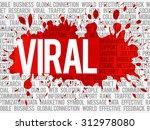 viral word cloud  business... | Shutterstock .eps vector #312978080