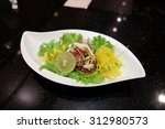 tuna salad  tuna yum thailand   Shutterstock . vector #312980573
