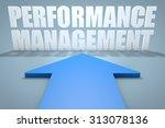 performance management   3d...   Shutterstock . vector #313078136