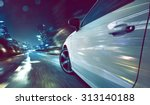 car at night | Shutterstock . vector #313140188