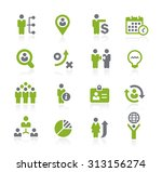human resources icons    natura ... | Shutterstock .eps vector #313156274