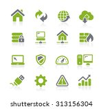 web developer icons    natura... | Shutterstock .eps vector #313156304