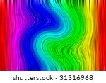 Abstract color spectrum. Illustration. Psychedelic effect - stock photo