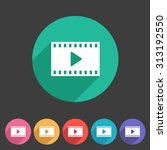 film video cinema photo icon... | Shutterstock .eps vector #313192550