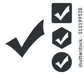 select icon set  monochrome ...