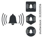 alarm icon set  monochrome ...