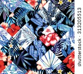 Print Fashion Tropic Jungle...