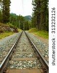 Railway Line That Runs In A...