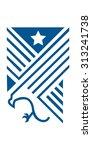 eagle emblem   Shutterstock .eps vector #313241738