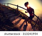 Fitness Woman Trail Runner...