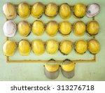 old construction helmets | Shutterstock . vector #313276718