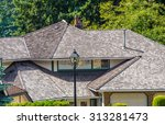roofs of a modern houses in... | Shutterstock . vector #313281473