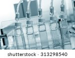 bioreactor in the bio lab | Shutterstock . vector #313298540