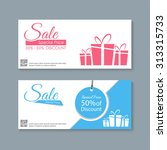 sale banners design vector | Shutterstock .eps vector #313315733