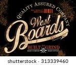skater graphics  street style...   Shutterstock .eps vector #313339460