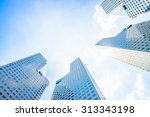 Skyscraper Building At...