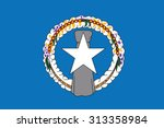 flag of northern mariana island.... | Shutterstock .eps vector #313358984