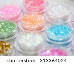 nail art accessories | Shutterstock . vector #313364024