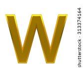 3d text  with big golden fonts... | Shutterstock . vector #313374164