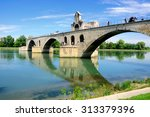Half Ruined Bridge Of Avignon....